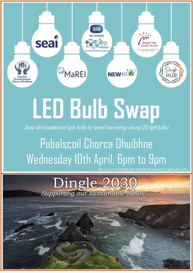 LED Bulb Swap 10 April 2019