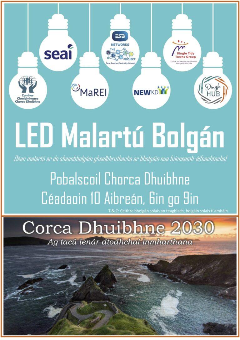 LED Malartú Bolgán 10 Aibreán 2019