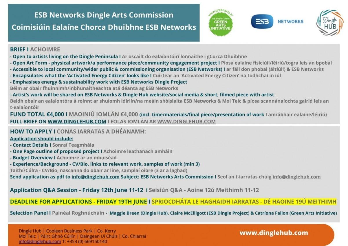 ESB Dingle Arts Commission