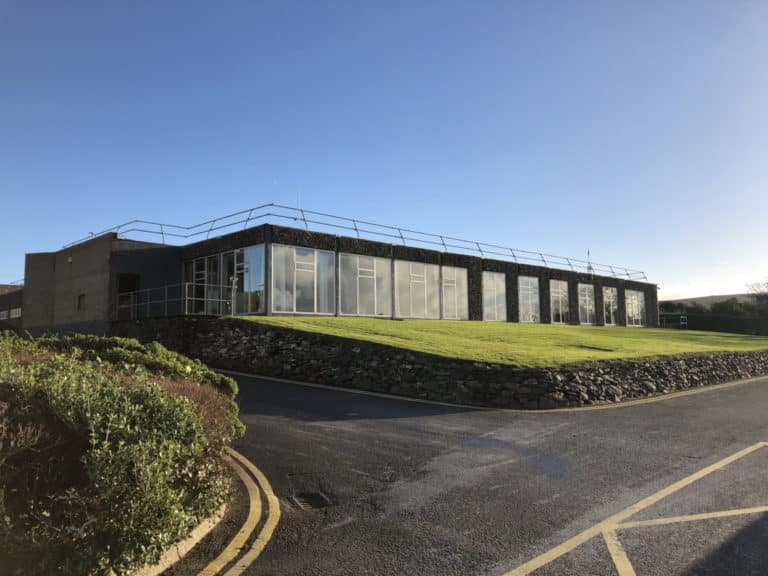 Dingle Hub outside building