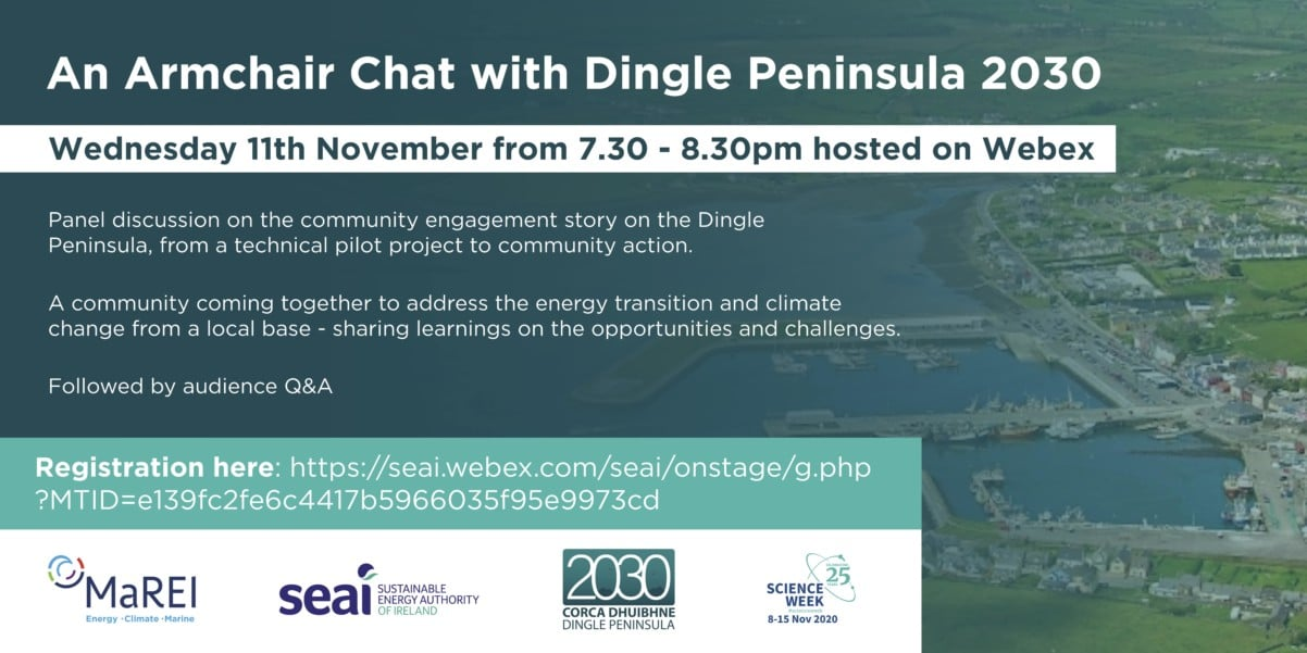 Dingle Peninsula 2030 Webinar