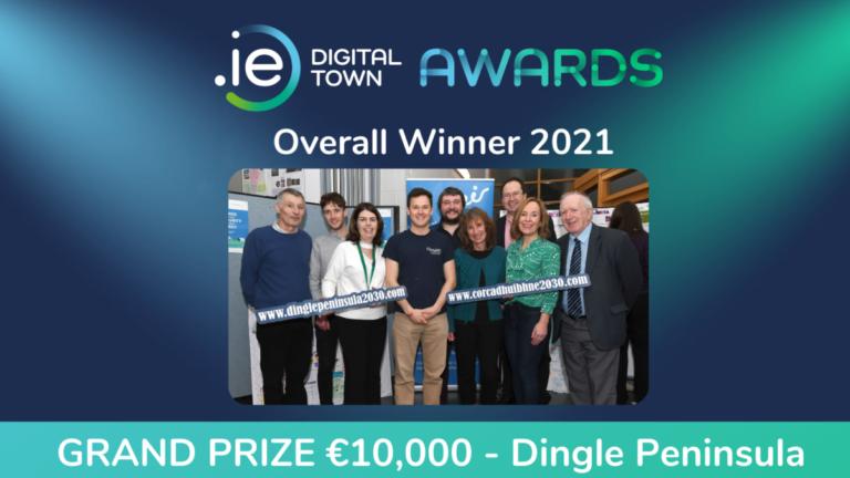 Dingle Peninsula is winner of .IE Digital Town Awards 2021
